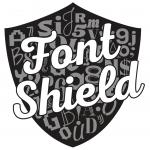Font Shield Logo