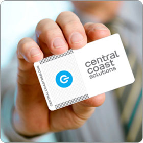Central Coast Solutions card